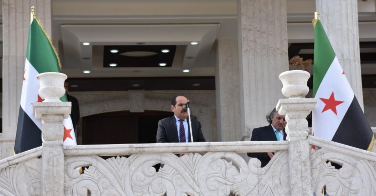 Syrian National Coalition Chairman Abdurrahman Mustafa (AA Photo)