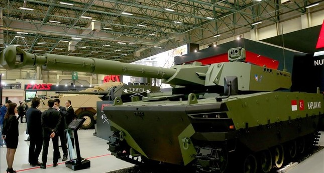 Turkish-Indonesian made battle tank unveiled in Istanbul - Daily Sabah