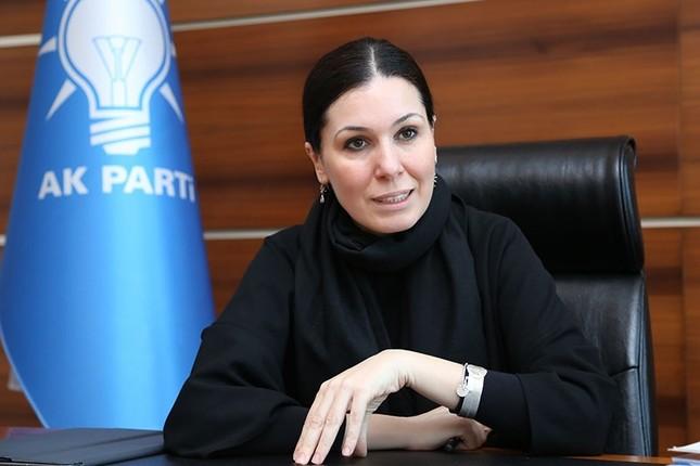 AK Party Deputy Chairwoman Çiğdem Karaaslan.