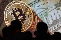 Bitcoin surged through the $6,000 level Friday for the first time since the launch of the unregulated virtual currency more than 8 years ago.