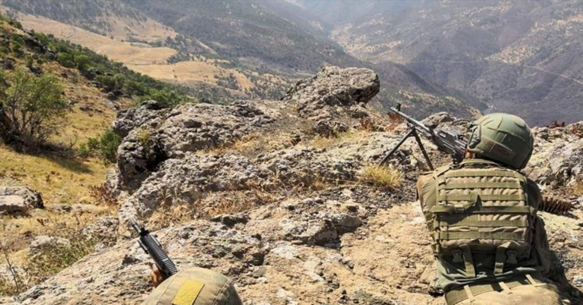 Turkish security forces conduct cross-border operations in northern Iraq, a region where PKK terrorists have hideouts and bases from which they carry out attacks on Turkey. (AA)