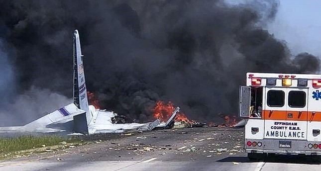 مصرع 5 في تحطم طائرة عسكرية أمريكية جنوب شرقي البلاد