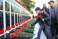 Azerbaijan remembers victims of 'Black January'