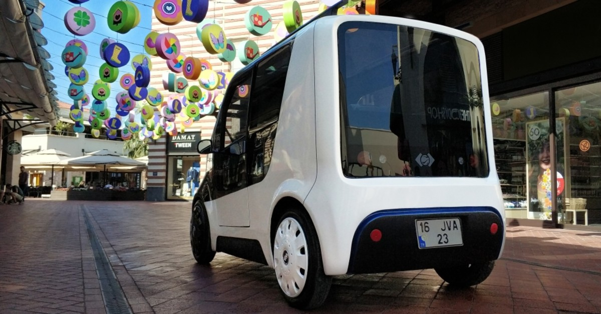 Ecotour is an electric vehicle which runs on solar energy.