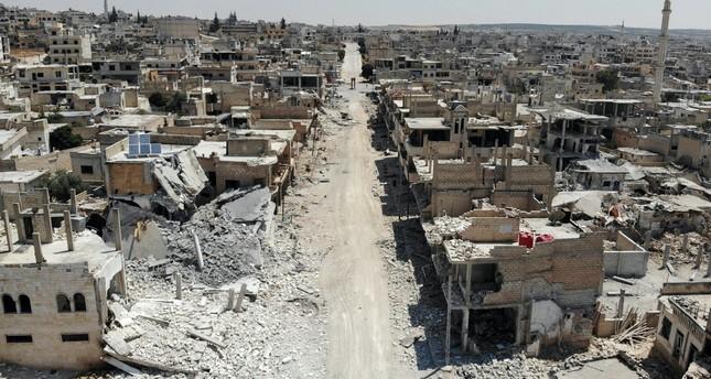 Regime attacks in Idlib cause humanitarian crisis, threaten Turkey's national security, Erdoğan says