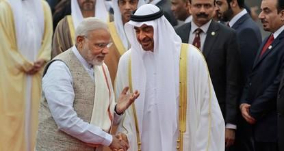 UAE set to award India's Modi amid brutal crackdown on Kashmir