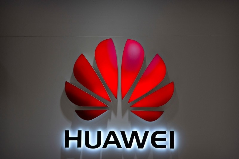 In this July 4, 2018, file photo, the Huawei logo is seen at a Huawei store at a shopping mall in Beijing. (AP Photo)
