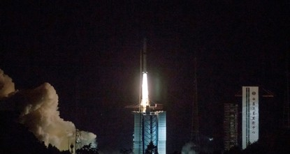 China launches satellite to explore moon's dark side