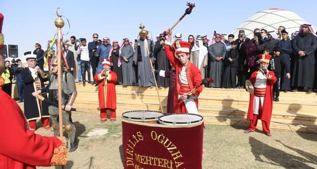 قرية تركية بمهرجان الكويت للموروث الشعبي الخلیجي