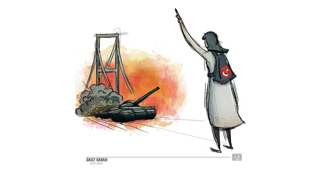 Safiye Bayat: The woman who spearheaded the Bosporus Bridge resistance on the night of July 15