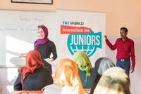 Public broadcaster trains young Syrians in journalism