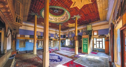 The 600-year-old Sarıhacılar Mosque located in the Akseki district of the southern Antalya province is gaining attention thanks to multiple historic artifacts and sites.br / br / Its most popular...