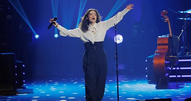 Singer Lorde performs during the 2018 MusiCares Person of the Year show honoring Fleetwood Mac at Radio City Music Hall in Manhattan, New York, U.S., January 26, 2018. (Reuters Photo)