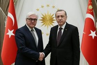 Erdoğan, Steinmeier discuss bilateral relations, ministerial visits in phone call