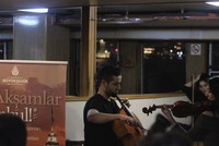 Istanbul commuters enjoy nice tunes on public transportation
