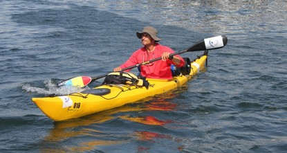 pCan you traverse the immense Black Sea in a kayak and endure paddling for hours? This is what Chirazi Marian, an academic from a Romanian university in Iasi, hopes to answer as he makes a solo...