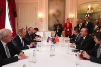 من الاجتماعات التركية الروسية من الأرشيف