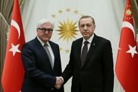 Erdoğan, Germany's Steinmeier agree to improve bilateral relations, discuss Turkey's Afrin op