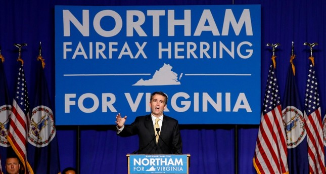 Democratic candidate for governor Ralph Northam speaks after his election night victory at the campus of George Mason University in Fairfax (Reuters File Photo)