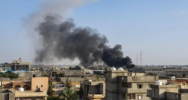 الحكومة الليبية: طيران إماراتي مسير يقصف مدنيين في طرابلس