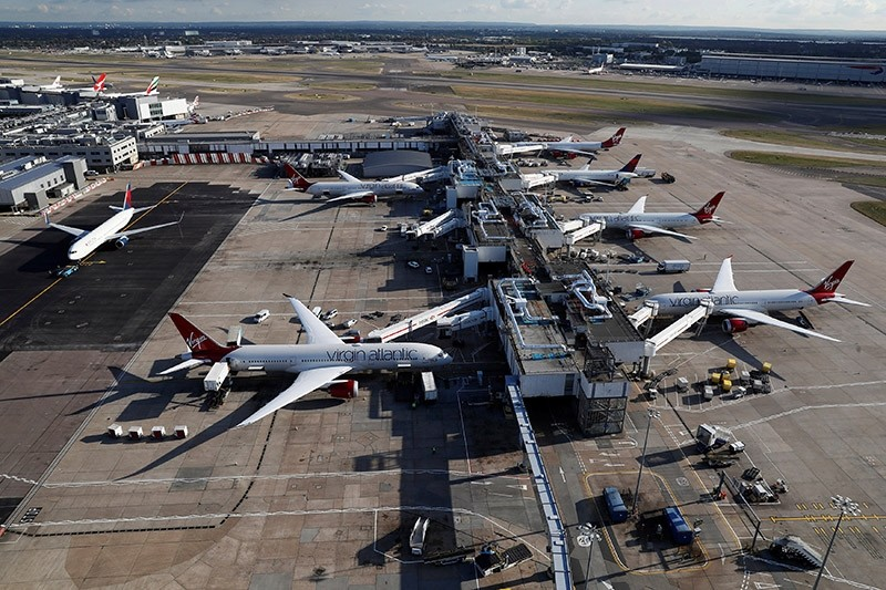 A general view of Terminal 3 at Heathrow Airport near London, Britain October 11, 2016. (Reuters Photo)