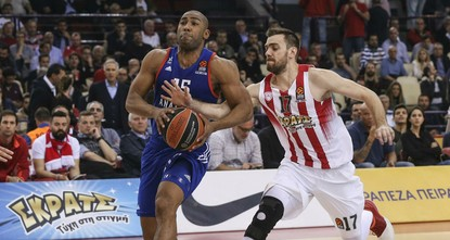 pIstanbul heavyweights Anadolu Efes beat Olympiacos 64-60 late Wednesday in Euroleague, bringing the series to 2-1./p  pDETAILS TO FOLLOW.../p