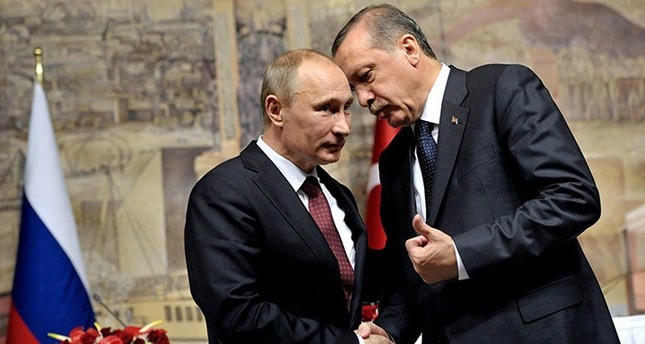 Erdoğan, Putin agree over phone call to intensify efforts for peace in Syria