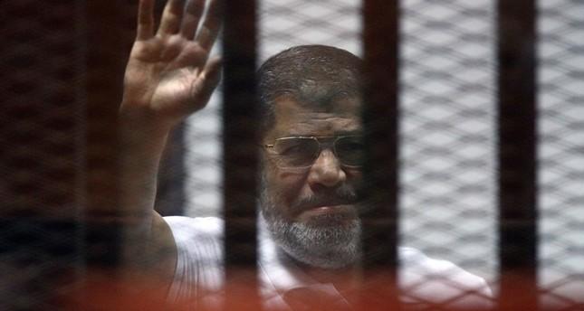 السجن المؤبد لمحمد مرسي في قضية التخابر مع قطر والإعدام لستة آخرين