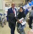 السفارة التركية بكابول تهدي طالبة أفغانية متفوقة منحة لدراسة الطب