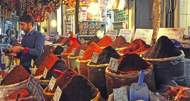 Spices hold an important place in Şanlıurfa's cuisine.