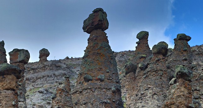 Fairy chimneys in Çankırı soon to rival those of Cappadocia