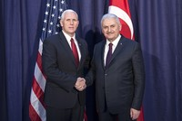PM Yıldırım, US Vice President Pence meet during Munich security summit