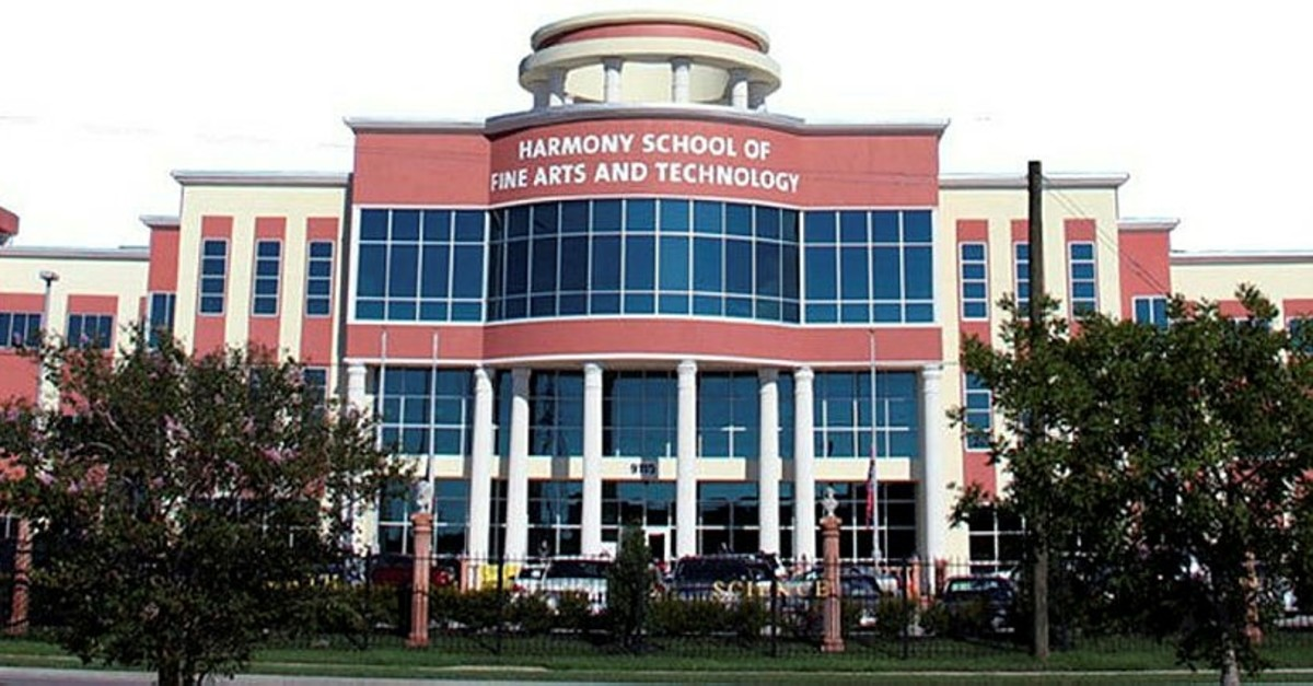 The Harmony School of Fine Arts and Technology is one of the FETu00d6-linked charter schools in Texas, where 46 ,Harmony, schools are operating under umbrella organizations and managed through foundations.