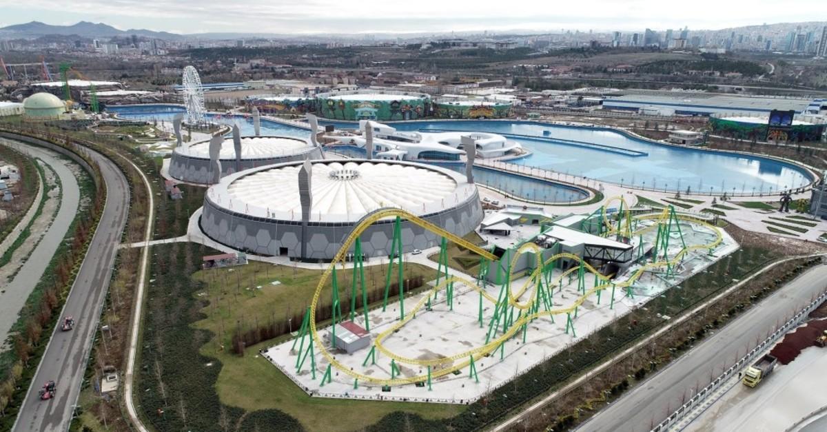 Wonderland Eurasia will house 26 large rides.