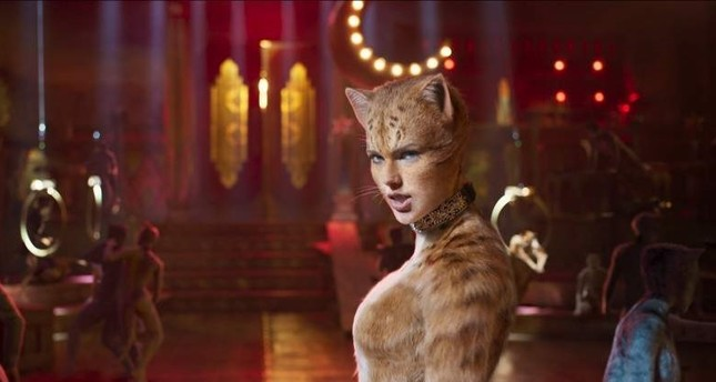 Taylor Swift in the musical film Cats.