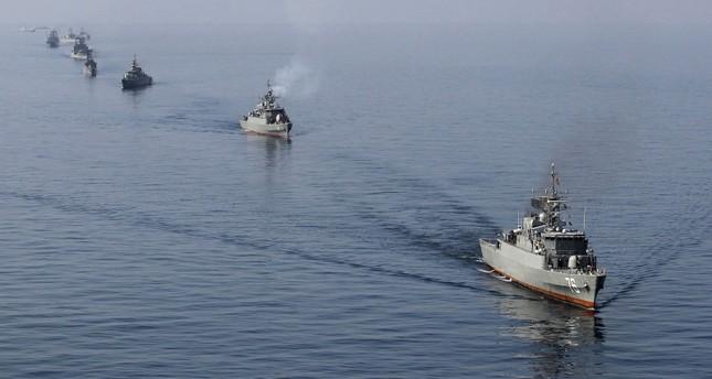 قطع بحرية إيرانية في الخليج العربي SABAH