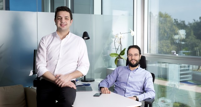 Serter Varol (L) and Emre Yılmaz founded mobile application company Mobven in 2012.