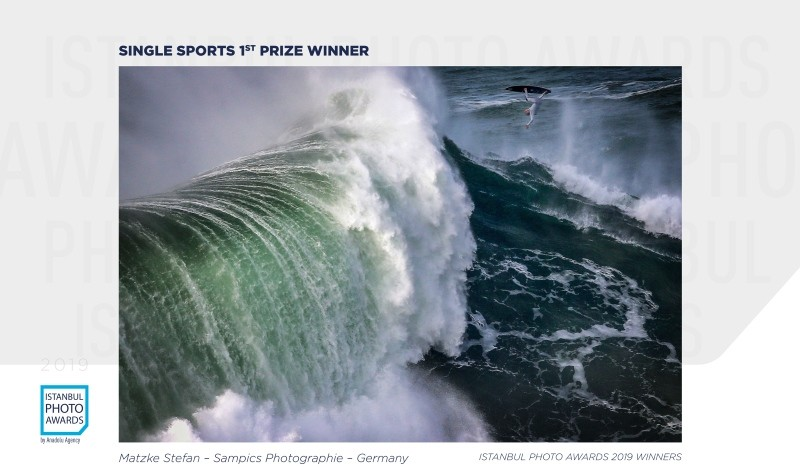 Single Sports 1st Prize — Wipeout