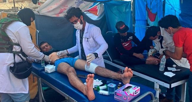 3 قتلى وعشرات المصابين مع استمرار الاحتجاجات في بغداد اليوم