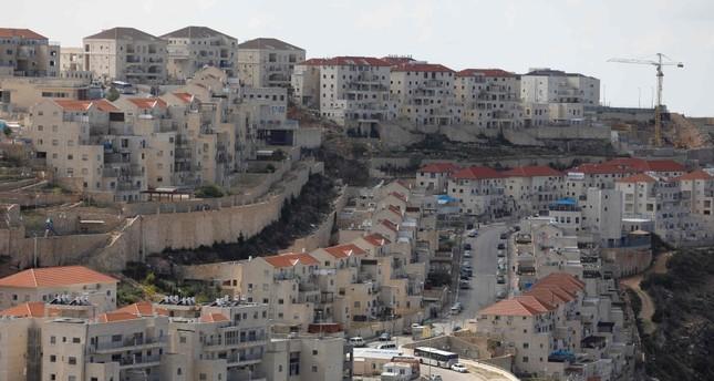 A view of the Israeli settlement of Beitar Illit, Feb. 14, 2018.