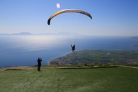 Sky's not the limit for paragliders in Turkey's Alatepe