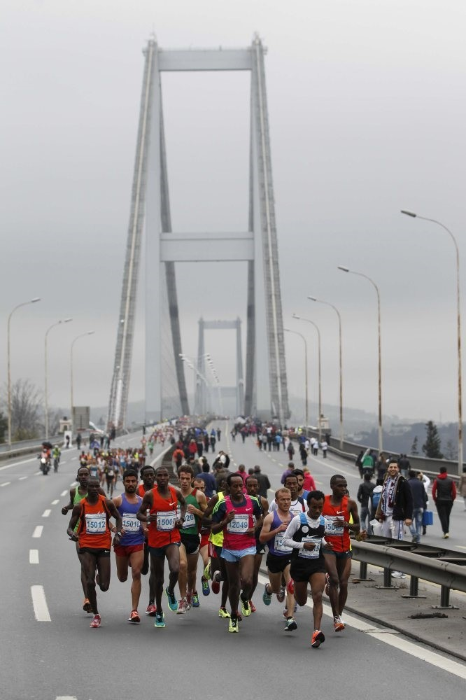 The Vodafone Istanbul Marathon, which has been held every year since 1979, is the first race that covers two continents.