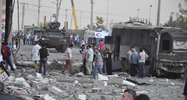 مقتل 5 مدنيين أتراك في تفجير نفذته منظمة بي كا كا الإرهابية جنوب شرق البلاد
