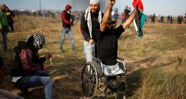 Palestinian who lost legs in 2008 clash dies in Gaza violence