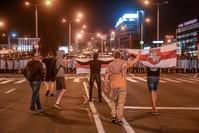 جانب من المظاهرات في منسك الأناضول