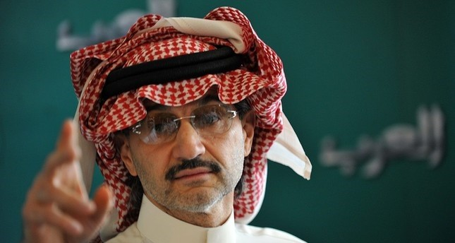 File Photo of Saudi tycoon Prince Alwalid bin Talal