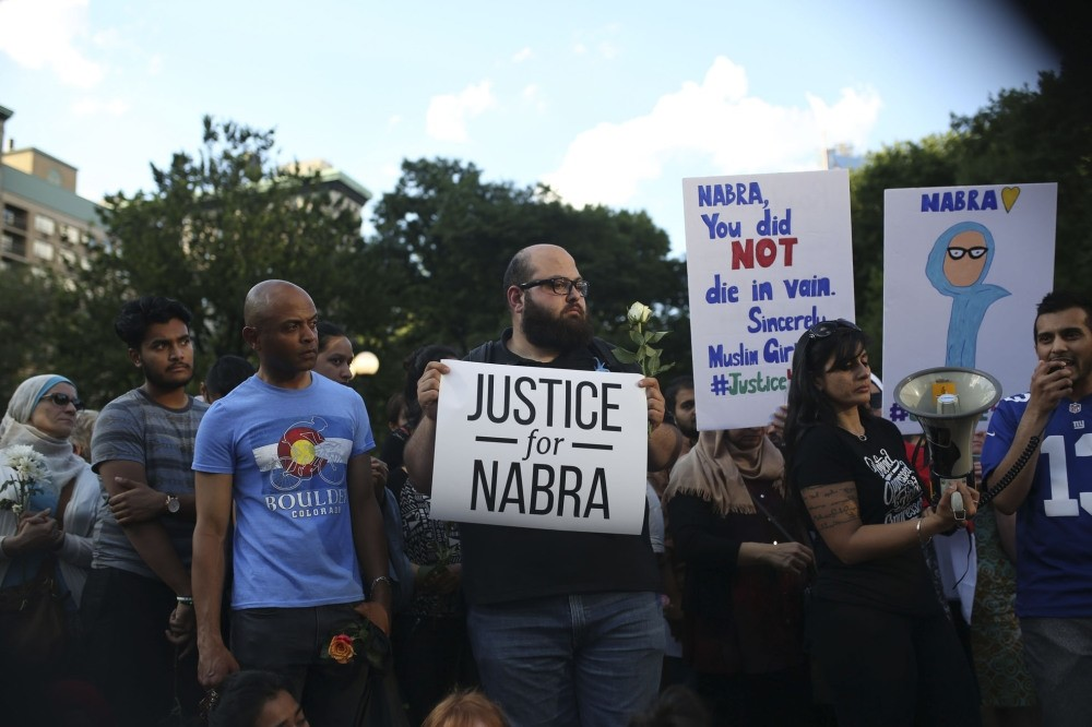 People came together after the murder, rising against Islamophobia.