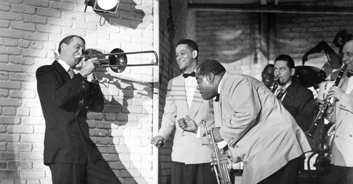 Still from the 1954 film u201cThe Glenn Miller Story.u201d