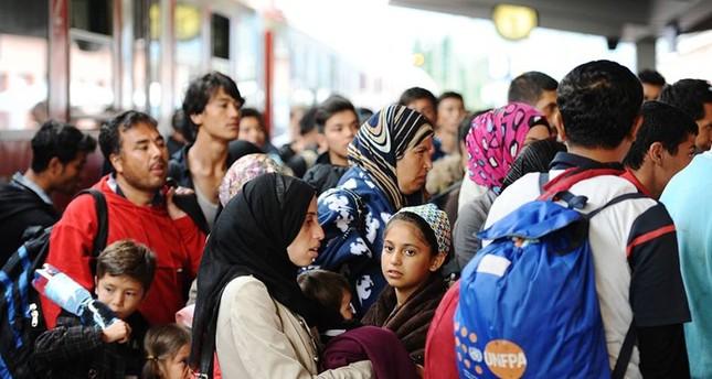 Flüchtlinge in Bayern (DPA)