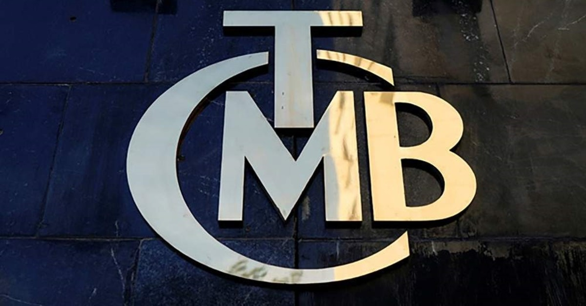 A logo of the Central Bank of the Republic of Turkey at the entrance of the bank's headquarters in Ankara, Turkey, April 19, 2015. (Reuters Photo)